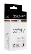 AMARELLE condoms Safety (Red Ribbon) 12er