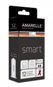 AMARELLE Condoms Smart Size 49 (Red Ribbon) 12er