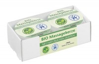 BIO Massagekerze Senses Natura 2er Set á 25ml