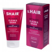 s.Hair Clean & Shave 150ml