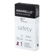 AMARELLE Kondome Safety (Red Ribbon) 1er x 50 Stück
