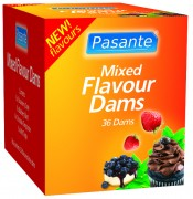 Pasante Dental Dams Mix 36er
