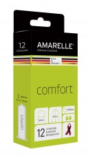 AMARELLE Kondome Comfort Size 54 (Red Ribbon) 12er